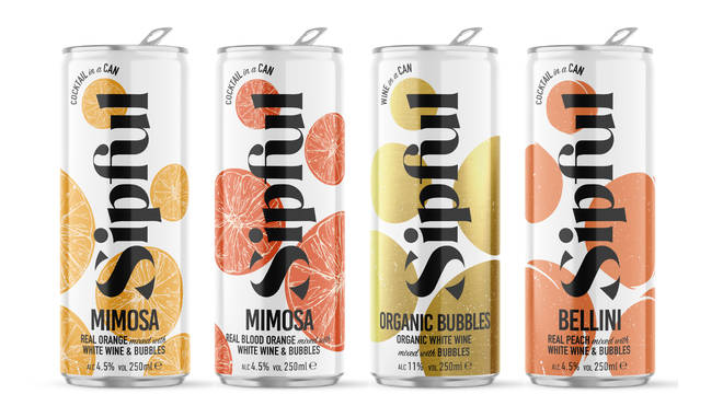 Sipful's range are perfect for outdoor celebrations