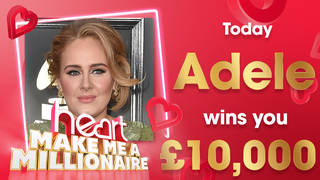 It's Adele's birthday... so to celebrate, her songs could win you £10,000 today