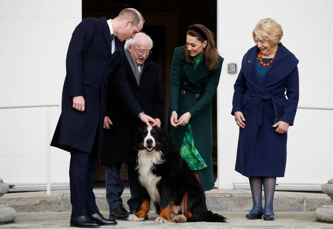 The gorgeous dogs are also very popular with the royals