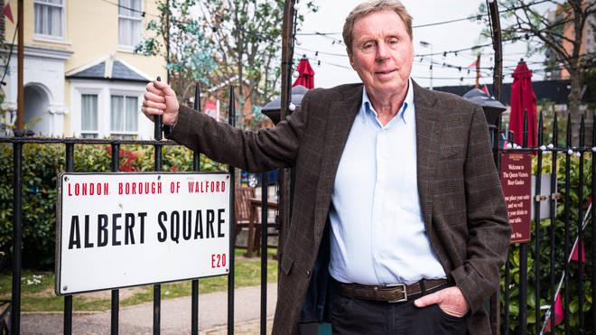 Harry Redknapp will be appearing as himself in EastEnders