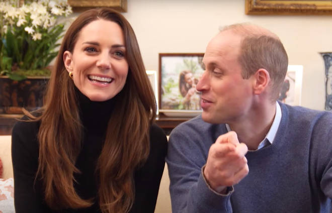 Prince William tells Kate to watch what she says in behind the scenes footage