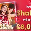 Shakira is the winning artist today