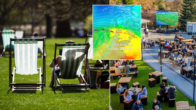 The weather is set to hit 20C today