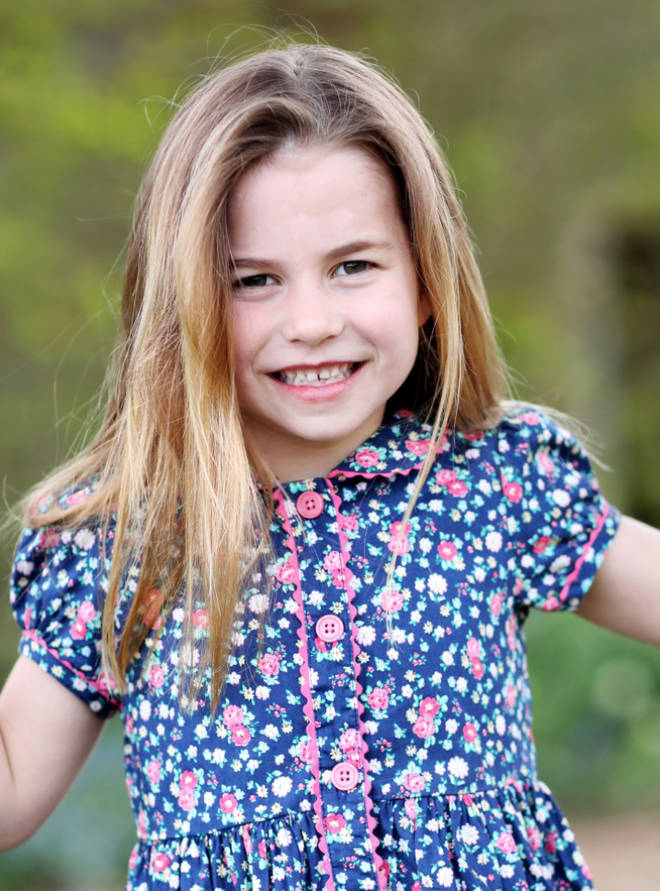 A new portrait of Princess Charlotte was released to mark her sixth birthday