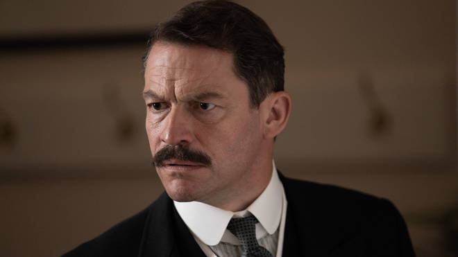 Dominic West as Uncle Matthew in The Pursuit of Love