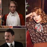 The full Pursuit of Love cast including Lily James and Dominic West
