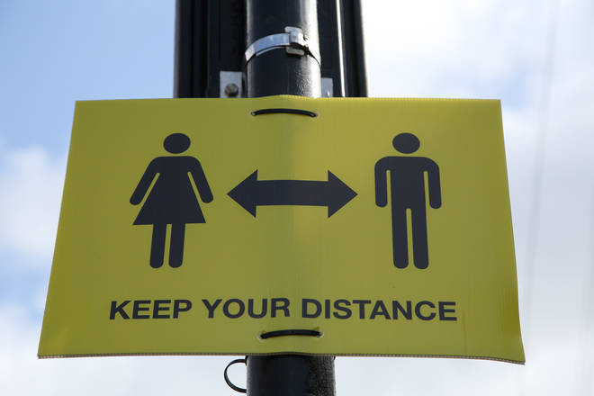 Social distancing guidelines are currently still in force in the UK