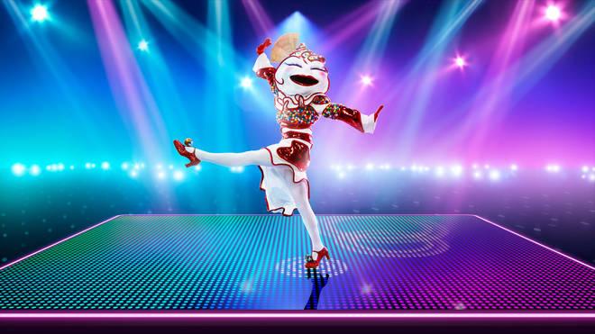 The Masked Dancer's Knickerbocker Glory