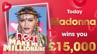 Strike a pose! Madonna could win you £15,000 today