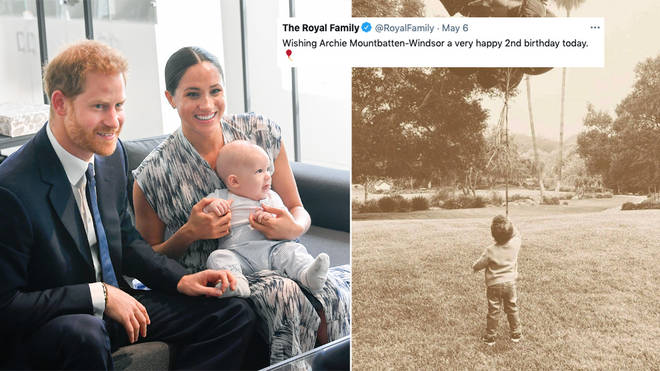 Meghan Markle and Prince Harry have shared a new photo of Archie