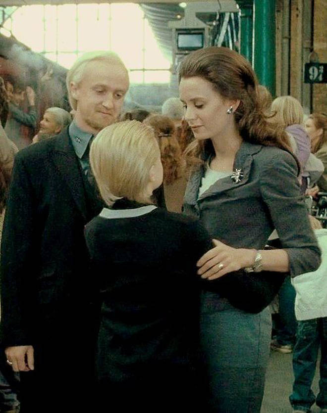 Jade Olivia starred as Draco's wife in Harry Potter