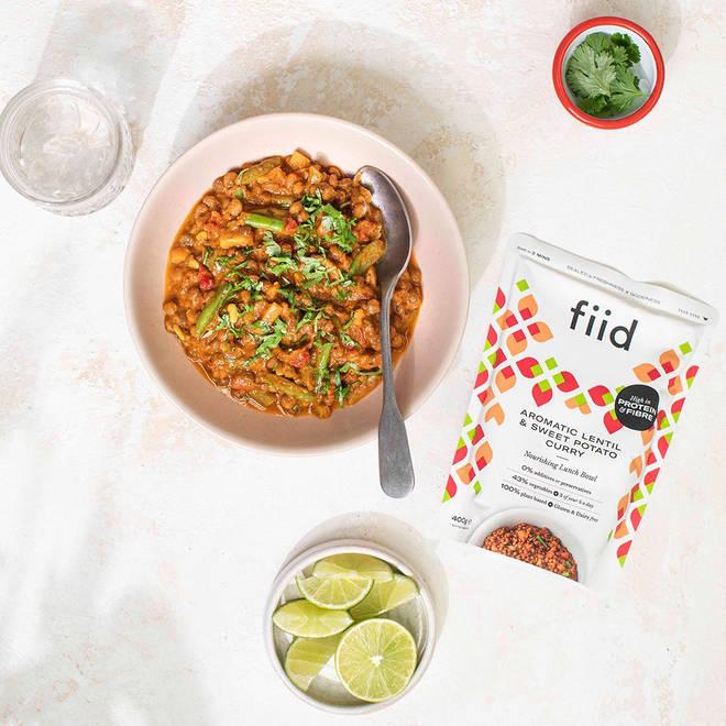 fiid'sAromatic Lentil & Sweet Potato Curry