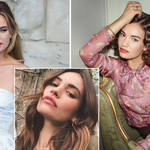 Lily James is playing Linda Radlett in The Pursuit of Love