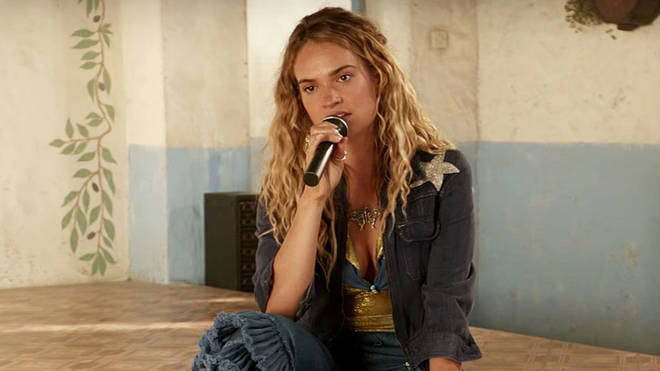 Lily James starred as a young Donna in Mamma Mia 2