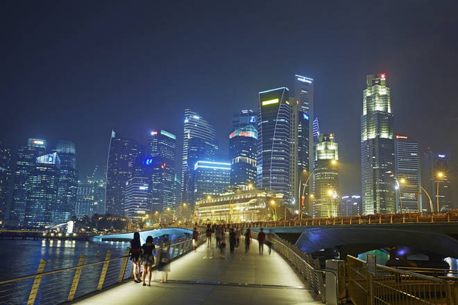 Singapore is among the countries on the green list
