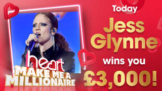 Jess Glynne is today's winning artist - her songs are worth £3,000
