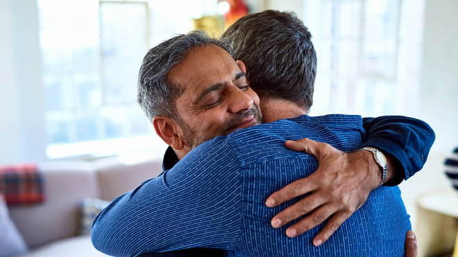 Friends and family will be able to hug again