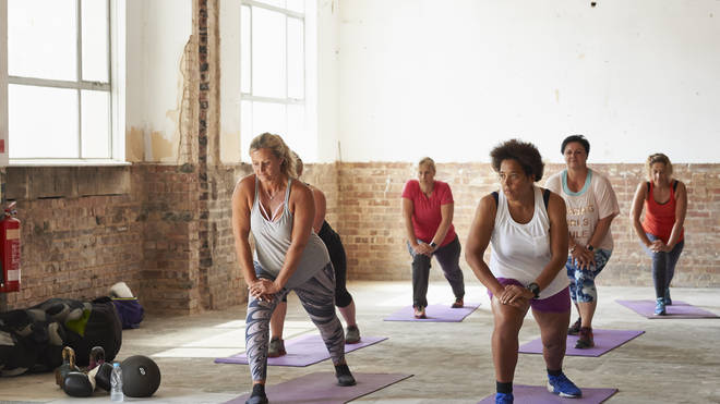 Exercise classes can start up again