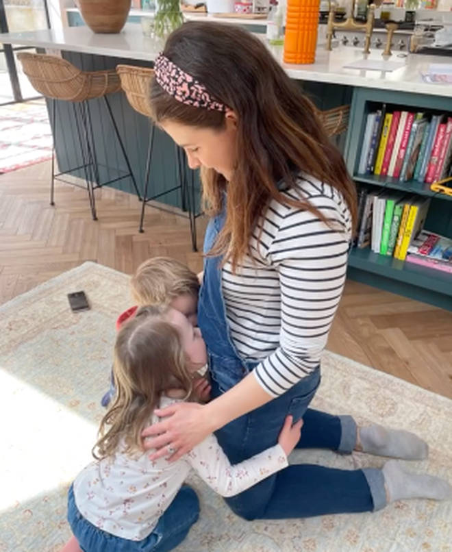 Izzy and Harry Judd are expecting their third baby
