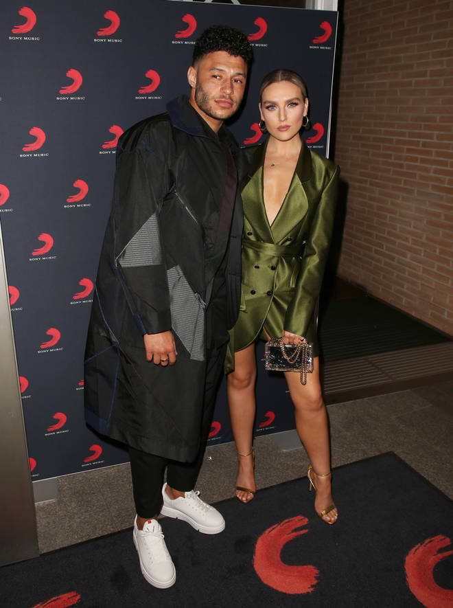 Perrie Edwards and Alex Oxlade-Chamberlain are having a baby