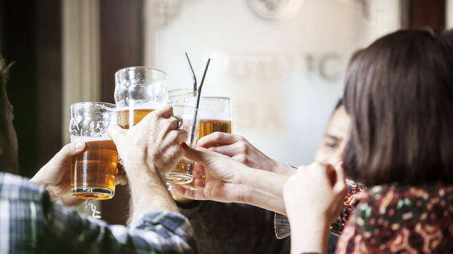 Pubs will open indoors on May 17 (stock image)