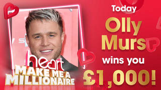 Olly Murs could win you £1,000 today