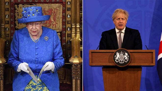 The Queen will be making a speech in Parliament today