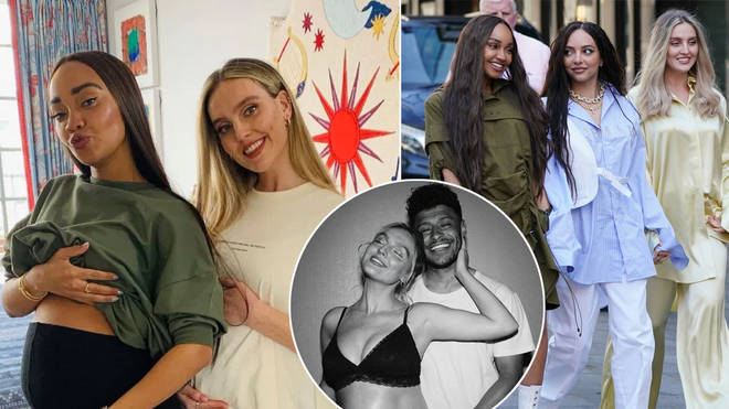 Leigh-Anne Pinnock and Perrie Edwards have shown off their bumps