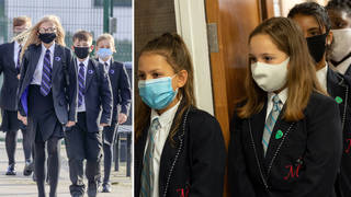 What are the new rules on face coverings in schools?
