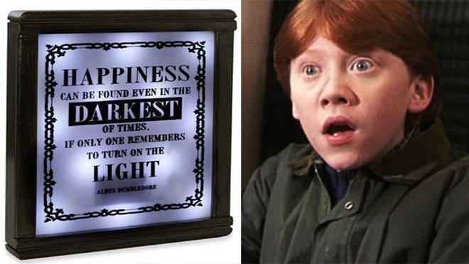 Can you spot the mistake on this Harry Potter lamp?
