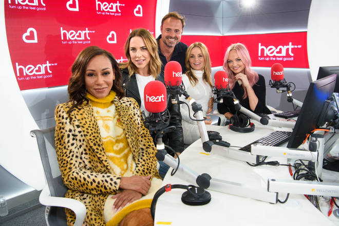 The Spice Girls appeared on Heart Breakfast for an exclusive interview