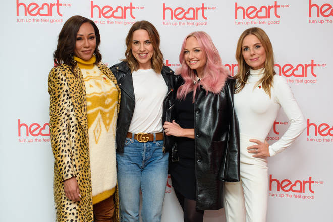 The Spice Girls commandeered a Girl Power take over live on Heart Breakfast