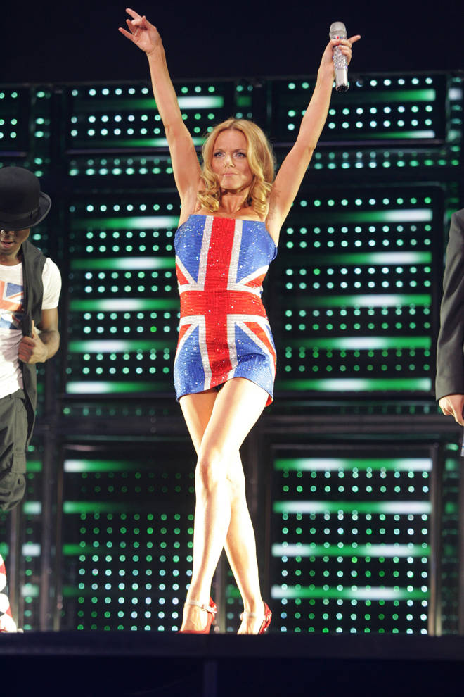 Geri returned to the Spice Girls for their 2007 tour
