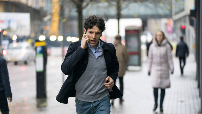 Colin Morgan plays Jonathan in Three Families