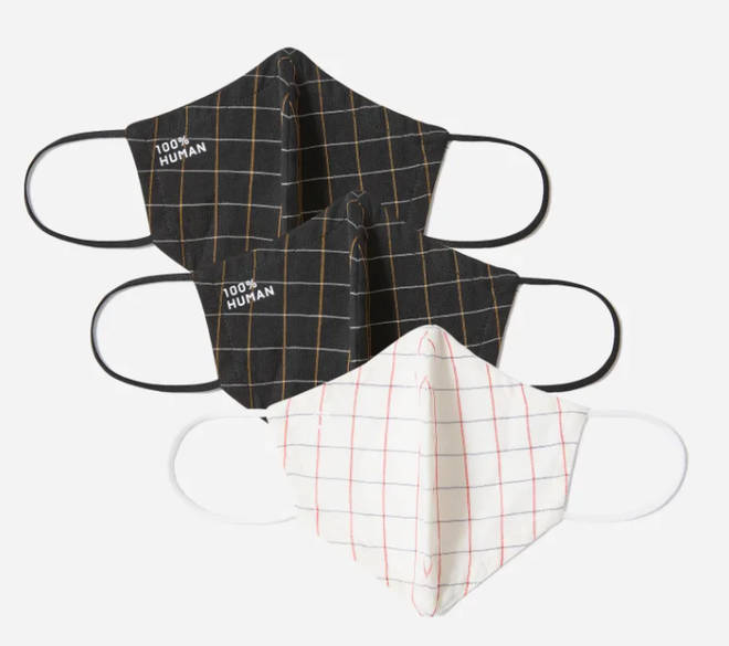 Everlane are selling face masks in packs of three or five