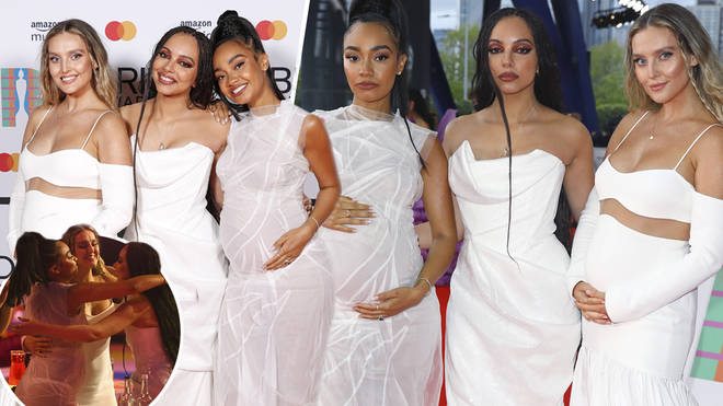 Perrie, Leigh-Anne and Jade looked beautiful on the red carpet