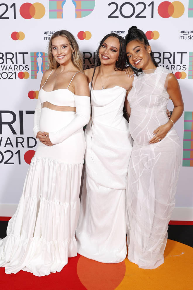 Perrie and Leigh-Anne had recently announced their pregnancies