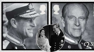 The Royal Mail has released stamps in memory of Prince Philip