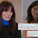 Davina McCall has been praised for her documentary Sex, Myths and Menopause