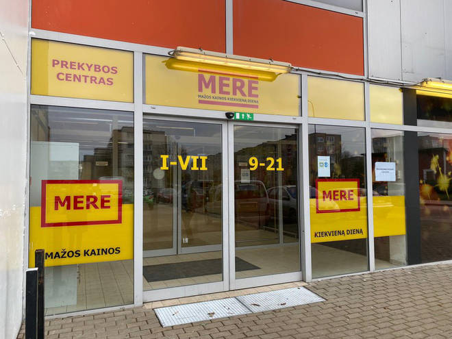 Mere supermarket was launched in Russia in 2009
