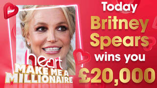 Britney Spears could win you £20,000