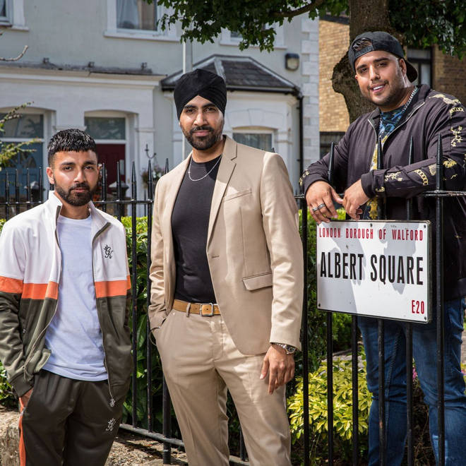 Kheerat Panesar arrived in EastEnders with his brothers