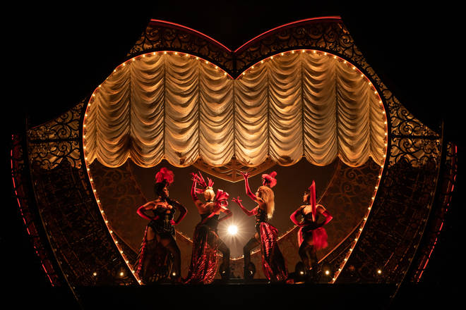 The Moulin Rouge! The Musical production in New York