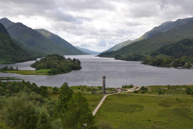 Loch Shiel, also known as The Black Lake