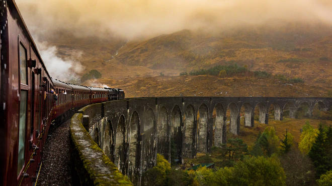 Loch Shiel even has a railway track looking over it – like the Hogwarts Express