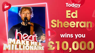 Ed Sheeran could win you £10,000 today