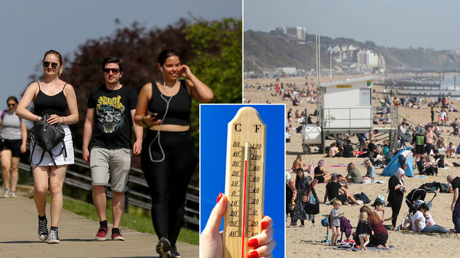 Temperatures are set to hot up next month