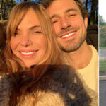 Samantha Womack is loved up with Corrie star Oliver Farnworth