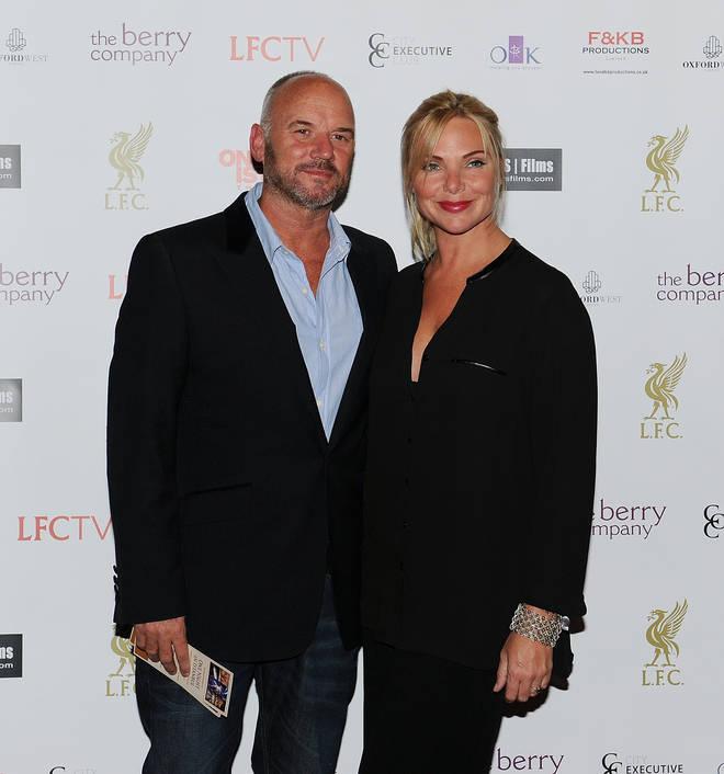 Samantha Womack and her ex-husband Mark
