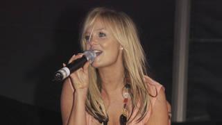 Emma Bunton performing solo material